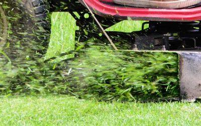 Wet grass is no problem!